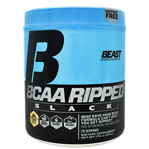 Beast Sports Nutrition BCAA RIPPED BLK ICE COF20EDISC