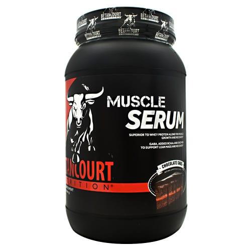 Betancourt Nutrition MUSCLE SERUM CHOCOLATE 2LB