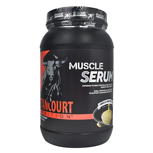 Betancourt Nutrition MUSCLE SERUM VANILLA 2LB