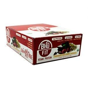 Bhu Foods BHU FIT BAR VEGAN CHERRY 12/BX