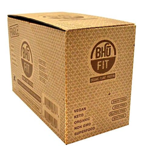 Bhu Foods BHU DBL CHCHIP COOKIE 10/B