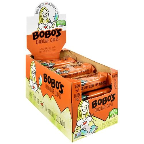 Bobo's OAT BARS CHOCOLATE CHIP 12/BOX