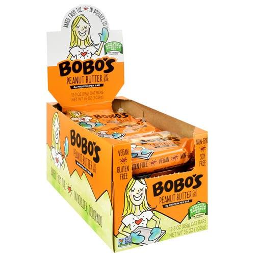 Bobo's OAT BARS PEANUT BUTTER 12/BOX