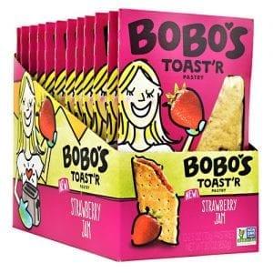 Bobo's TOASTR PASTRY STRWBRY JAM 12/B