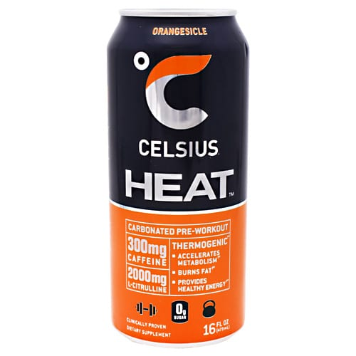Celsius CELSIUS HEAT ORANGESICLE 16o12