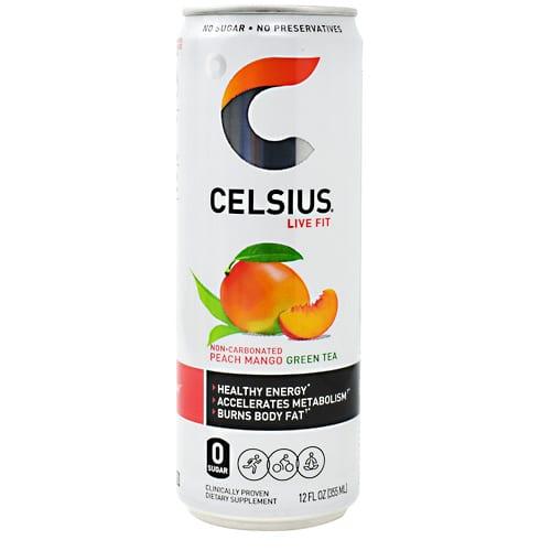 Celsius CELSIUS PEACH MANGO 12oz 12/CS