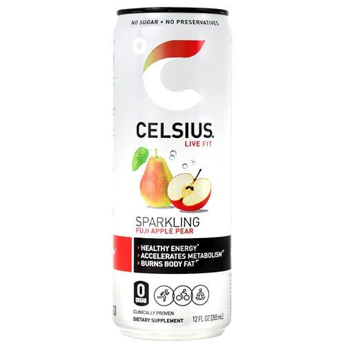 Celsius CELSIUS FUJI APL PEAR 12oz 12/