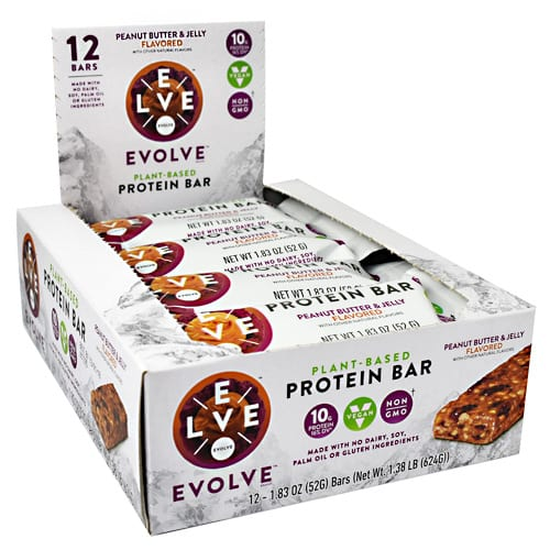 Cytosport EVOLVE BAR PB & JELLY 12/BX