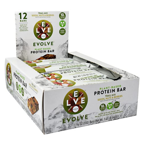 Cytosport EVOLVE BAR TRAIL MIX 12/BX