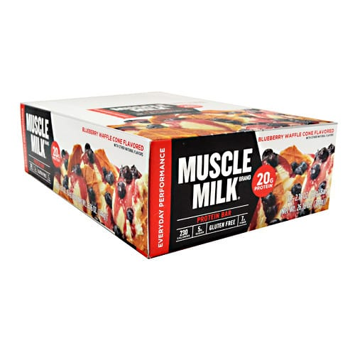 Cytosport MM RED BAR BLUEBERRY WAFFLE 12