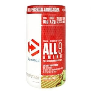 Dymatize ALL 9 AMINO COLA LIME TWST 30/