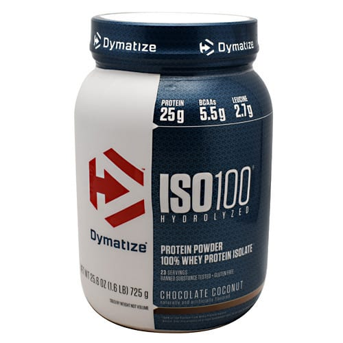 Dymatize ISO-100 CHOCOLATE COCONUT 5LB