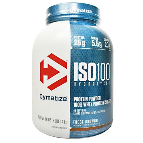 Dymatize ISO-100 FUDGE BROWNIE 5LB
