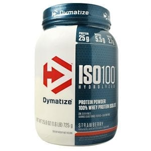 Dymatize ISO-100 STRAWBERRY 5LB