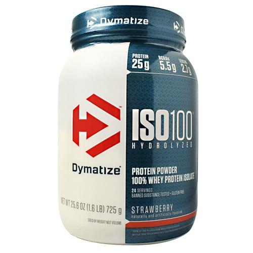 Dymatize ISO-100 STRAWBERRY 5LB
