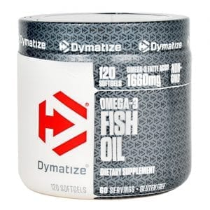 Dymatize OMEGA-3 FISH OIL 120/SOFTGELS
