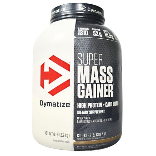 Dymatize SUPER MASS GAINER CO&CRE 12LB