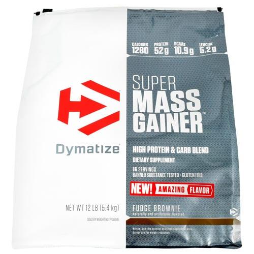 Dymatize SUPER MASS GAINER FDG BRWN 12L
