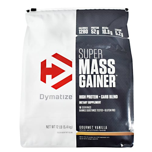 Dymatize SUPER MASS GAINER VANILLA 12LB