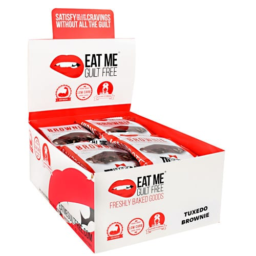 Eat Me Guilt Free TUXEDO BROWNIE 12/BOX