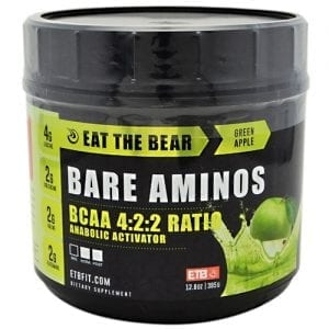 Eat The Bear BARE AMINOS GRN APPLE 30/EDISC