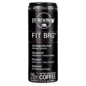 Fit Bru FIT BRu CAFE MOCHA 12oz 12/CS