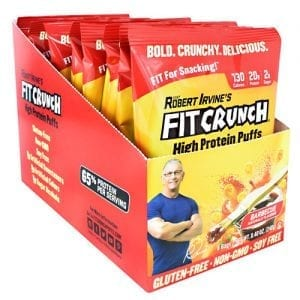 Fit Crunch Bars FIT CRUNCH PUFFS BARBECUE 8/BX