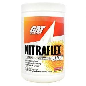 GAT NITRAFLEX BURN PINK LMNDE 30/S