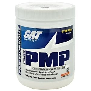 GAT PMP STIM FREE ORANGE CREAM 30/