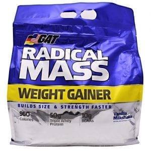 GAT RADICAL MASS VANILLA MILK 10LB