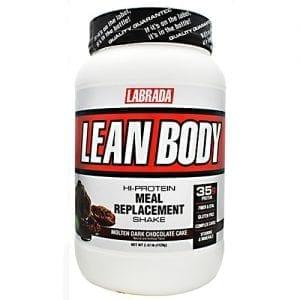 Labrada Nutrition LEAN BODY MOLTEN CHOC 2.47LB