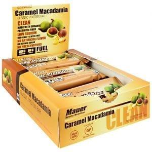 Mauer Sports Nutrition CLASSIC PRTN BAR CARM MACAD12/