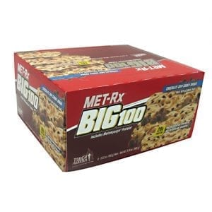 Met-Rx USA BIG 100 COLOSSAL CHOC CHIP 9/