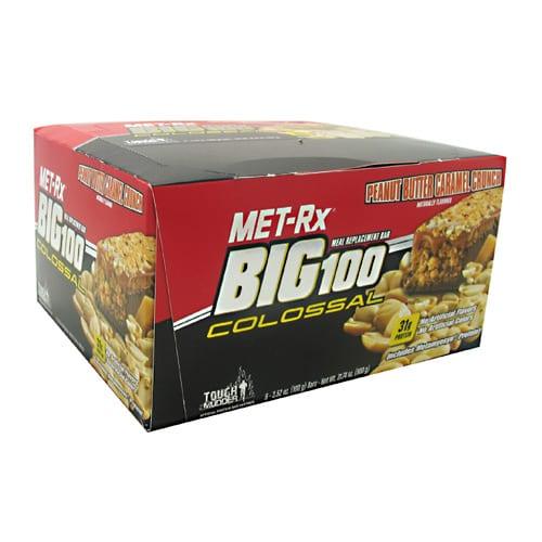 Met-Rx USA BIG 100 COLOSSAL BAR PBCRML 9/