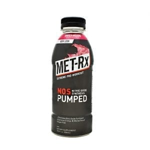 Met-Rx USA NOS PUMPED WATERMELON 12/CS