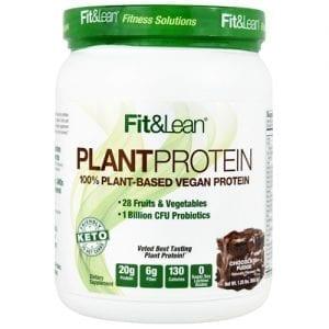 MHP FIT & LEAN PLANT CHOC 1LB