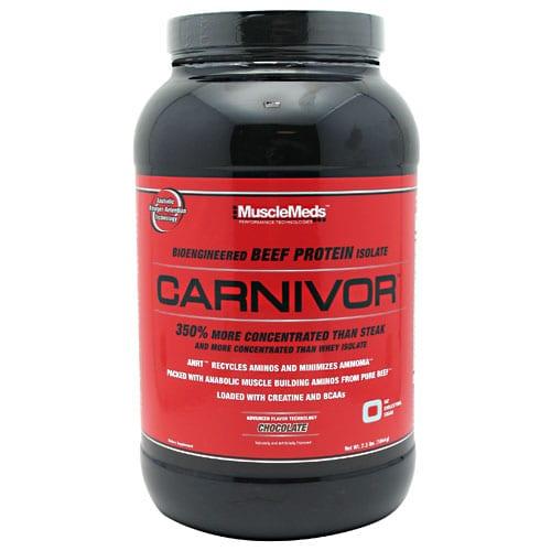 Muscle Meds CARNIVOR CHOCOLATE 8LB