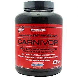 Muscle Meds CARNIVOR FRUIT PUNCH 4LB