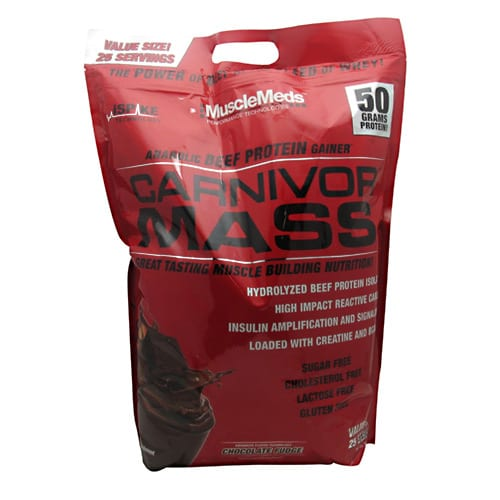 Muscle Meds CARNIVOR MASS CHOCOLATE 10LB