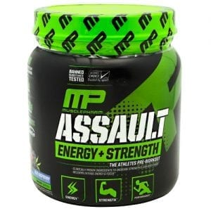MusclePharm ASSAULT SPORT BLUE RAZZ 30/S