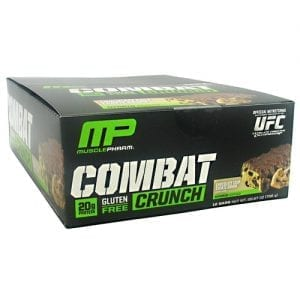 MusclePharm COMBAT CRUNCH BARS CHC CHIP12/