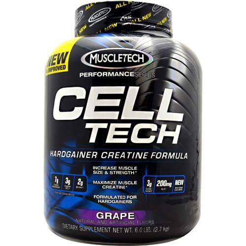 Muscletech CELL-TECH PERF GRAPE 6LB