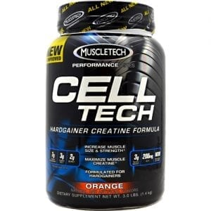 Muscletech CELL-TECH PERF ORANGE 3LB