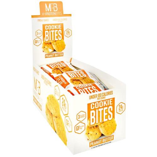 My Protein Bites COOKIE BITES PEANUT BUTTER 8/B