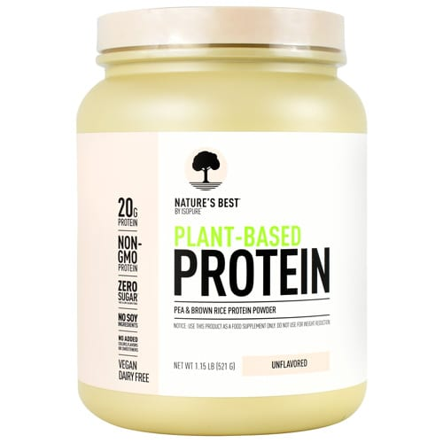Nature's Best PLANT PROTEIN UNFLAV 1.3 LB