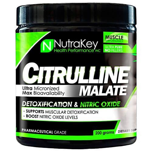 Nutrakey CITRULLINE MALATE PWDER 200/GM
