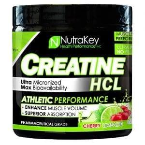 Nutrakey CREATINE HCL CHRY LIMADE125/SR