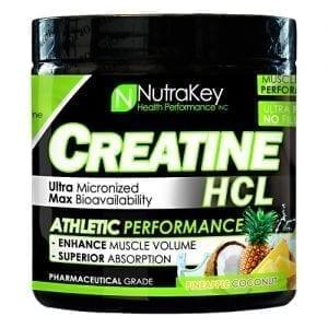 Nutrakey CREATINE HCL PNEAPL/COCONT125/