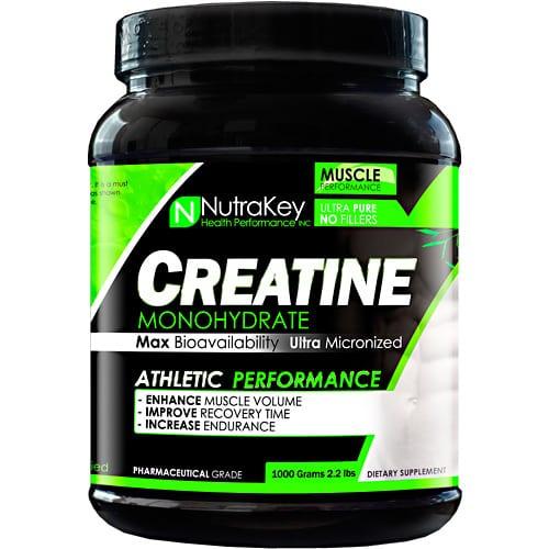 Nutrakey CREATINE 750mg 100 CAPS