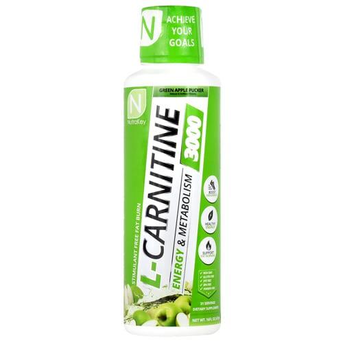 Nutrakey LIQ LCARN 3000 GREEN APPLE 31/